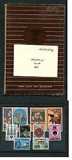 Indien - Folder Posts and Telegraphs mit Marken und Karte   (DK6)