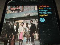 JOHN COLTRANE Live at the Village Vanguard Again! lp EXC! + BONUS CD of record