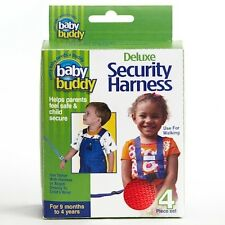 Baby Buddy Deluxe Security Harness Red
