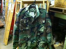 NEW M65 CAMOUFLAGE MILITARY FIELD JACKET MADE IN USA MENS- EXTRA SMALL + SMALL