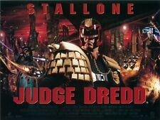Judge Dredd movie poster : Sylvester Stallone poster - 12 x 16 inches