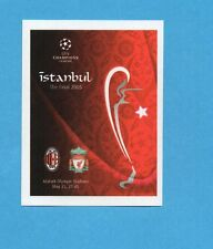 PANINI-CHAMPIONS 2010-2011-Figurina n.562- ISTANBUL FINALE 2005 -NEW BLACK