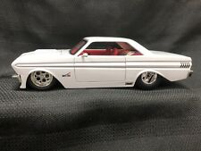 Jada 1:24 Classic Big Time Muscle Car 1964 Ford Falcon - White Die Cast