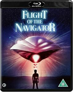 FLIGHT OF THE NAVIGATOR (1986) BLU RAY with Special Features New & Sealed!