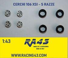 1/43 Cerchi Wheels Peugeot 106 XSI