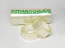 "24 Rolls Crystal Clear Transparent Tape 3/4 x 1100"" Dispenser Refill Tape Roll"