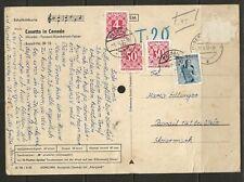 Schallbildkarte 45U/min. München/Karlsplatz Casetta in Canada n. Passail Taxiert