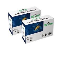 2 Toner Cartridges For Brother TN1050 HL-1112E HL-1112R HL-1210W HL-1212