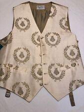 Neal & Palmer Jermyn St. Piccadilly Silk Waistcoat Vest US 42 BEES London NWT