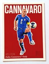 2017 Panini Nobility Soccer Red Fabio Cannavaro #21/199