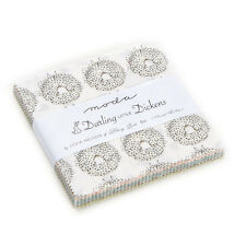 """Moda FABRIC Charm Pack ~ DARLING  LITTLE DICKENS ~ by Lydia Nelson 42 - 5"""" sqs"""