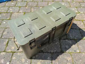 GFK Kiste Bundeswehr Box Flightcase Transportbehälter Militär 25.5x57x27cm
