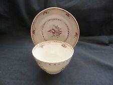 Porcelaine bol à thé & soucoupe C1760