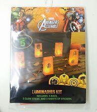 NEW Marvel Avengers Assemble Luminaries Kit decoration party Super Hero Comics