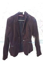 Veste en velours de coton marron foncé Comptoir des Cotonniers Taille 36