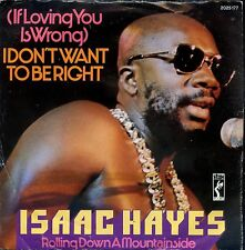 7inch ISAAC HAYES i don't want to be right GERMAN 1973 EX+