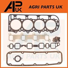 "Ford 5000,5600,4830,5030,5110,5610,5900 Tractor Top Head Gasket Set Kit 4.4"" Bor"