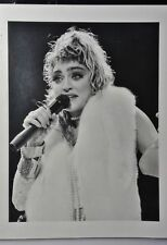 8x11 vintage early Madonna photograph NOT DIGITAL