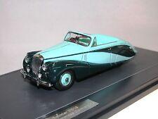 Matriz, 1951 daimler db18 Empress Hooper convertible 2-Tone Green, 1:43