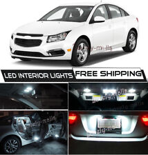 10 x Xenon White Interior LED Lights Package For 2011- 2015 Chevy Cruze +TOOL O5