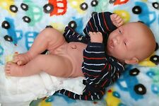 "Baby Real Reborn Doll Preemie Berenguer 15"" inch Newborn Soft Vinyl Life Like"