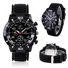 Mens GT Grand Touring Quartz Black Faced Sports Wrist Watch.(Aussie Seller)
