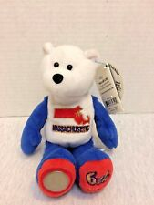 Limited Treasures State Quarters Coin Collectible Teddy Bears Massachusets #6