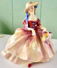 Rare 1934 Antique Vintage Harradine Royal Doulton Figurine Margot Hn 1636: Nr!