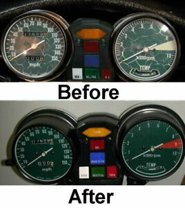 Honda Goldwing GL1000 Speedometer, Tachometer & Cluster Restoration Kit