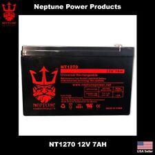 12V 7AH Sealed Lead Acid Battery For APC ES500 ES550 LS500 RBC110 RBC2 F2