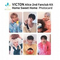 VICTON ALICE 2ND Official FANCLUB Kit Official Goods Photocard Postcard Set KPOP
