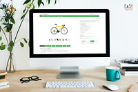 Ebayvorlage 2021 Responsive SEO Template Design optimiert Business grün + Editor