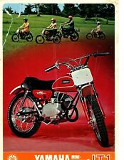 1971 Yamaha  Mini Enduro JT1  factory original sales brochure(Reprint) $10.50