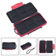 Waterproof 12 SD+12 TF Cards Box Memory Hard Card Case Storage Holder Protector