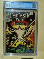 FANTASTIC FOUR #53 (Aug 1966, Marvel) CGC 3.5 CREAM to OFF-WHITE Pages