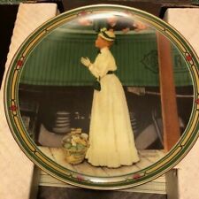 Collector Plate A Mother's Welcome Norman Rockwell Knowles Plate