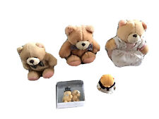 More details for three forever friends soft toy bears one hard bear & bride & groom