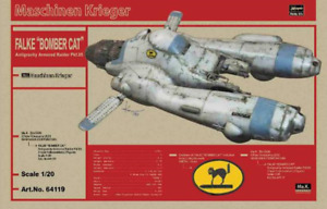Hasegawa 1/20 Antigravity Armored Raider Pkf.85 Falke Bomber Cat