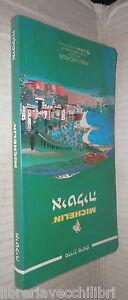 ITALIA Guida Michelin 1999 Testo in ebraico Viaggi Turismo Itinerari Ebrei di e