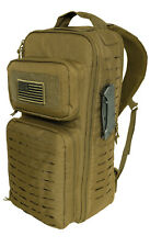 Coyote Tactical Single Sling Pack Backpack Laser Cut Molle Panels Rothco 2235