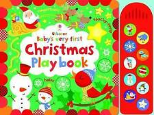 Baby's Very First Touchy-Feely Christmas Play Book (Baby's Very First-ExLibrary