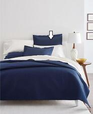 Charter Club Damask Quilted 210 Tc 100% Cotton Euro Pillow Sham Navy $70