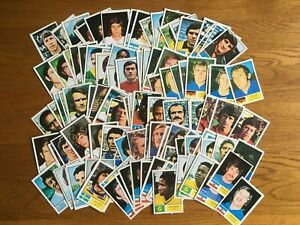 FKS 1974 World Cup football stickers (x137)
