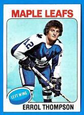 1975-76 Topps ERROL THOMPSON (vg) Toronto Maple Leafs
