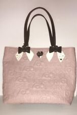 Betsy johnson purse bag dusty rose pink large hearts bows