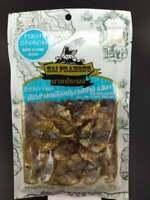Thai Fish Seafood Snack Food Sesame Flavor Roased Seasoned From Thailand 40g