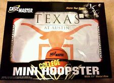 Rare New - Texas Longhorns - Mini Door Hung Basketball Hoop Sports Game Set