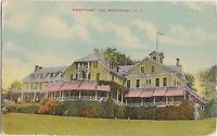 New York NY Postcard 1914 WESTPORT Westport Inn Hotel Porch