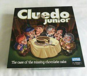 Cluedo Junior Case Of Missing Chocolate Cake Board Game Complete