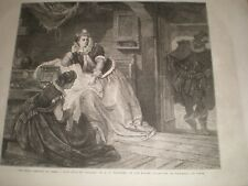 First meeting of James I and Anne of Denmark by G F Folingsby 1866 print ref C
